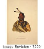 #7250 Sioux Indian Chief Esh-Ta-Hum-Leah