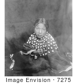 #7275 Stock Image: Sioux Indian Child