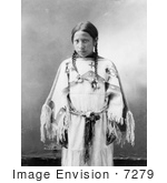 #7279 Stock Image: Lakota Indian Woman, Julia American Horse by JVPD
