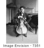 #7351 Michael Penha With Cello