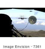 #7361 Stock Image Of An Air Force Airdrop Training Mission
