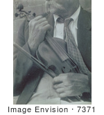 #7371 Stock Image Of James Duff With Violin