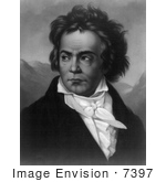#7397 Stock Picture Of Ludwig Van Beethoven