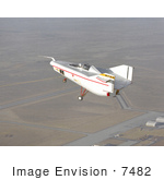 #7482 Stock Picture Of A M2-F1 In Tow Flight