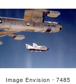 #7485 Stock Picture Of A X-38 Ship #2 Release From B-52