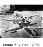 #7493 Stock Picture Of A Curtiss Bleeker Helicopter