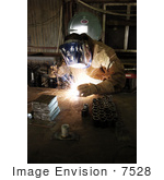 #7528 Stock Picture Of Usaf Tech Sgt John Gallup Welding