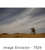 #7529 Stock Picture Of A Us Army Soldier On Patrol