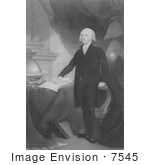 #7545 Picture Of James Madison 4th American President