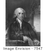 #7547 Image Of James Madison Fourth President Of The United States