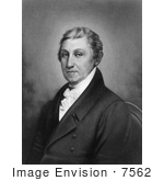 #7562 Picture Of James Monroe Fith President Of The United States