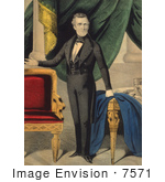 #7571 Picture Of James Knox Polk