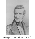 #7575 Image Of James K Polk Eleventh American President