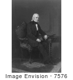 #7576 Picture Of James Knox Polk 11th American President