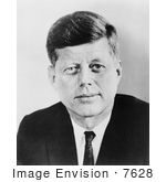 #7628 Picture of John F Kennedy by JVPD