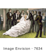 #7634 Picture Of The Death Of John Quincy Adams