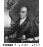 #7639 Picture Of The 6th American President John Quincy Adams