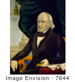 #7644 Picture Of President John Quincy Adams
