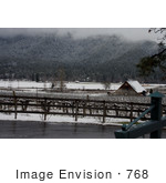 #768 Photo of the Valley View Winery in Snow by Jamie Voetsch