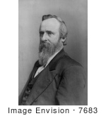 #7683 Picture Of President Rutherford Hayes