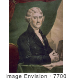 #7700 Image Of Thomas Jefferson 3rd American President