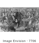 #7706 Picture Of Zachary Taylor Inauguration