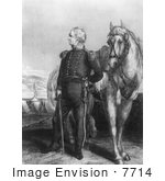 #7714 Picture Of Major General Zachary Taylor