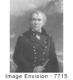 #7715 Picture Of Zachary Taylor 12th President Of The United States
