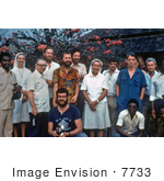 #7733 Picture of a Health Care Professionals Who Were Involved in the 1976 Ebola Virus Outbreak in Yambuku, Zaire by KAPD