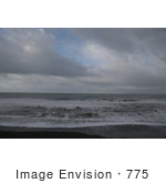 #775 Photography of Overcast at Brookings Beach, Oregon by Kenny Adams
