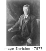#7877 Picture Of Theodore Roosevelt In 1910
