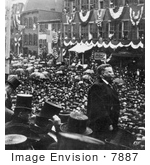 #7887 Picture of Theodore Roosevelt Giving a Speech by JVPD