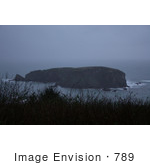 #789 Photo of Rocks at the Oregon Coast by Kenny Adams