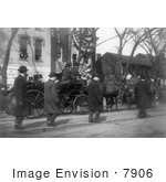 #7906 Picture Of Theodore Roosevelt In Carriage