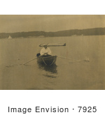 #7925 Picture Of Theodore Roosevelt In A Boat