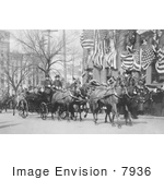 #7936 Picture Of Theodore Roosevelt In A Carriage