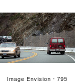 #795 Photography of Driving by Rockslide Area by Kenny Adams