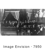 #7950 Picture Of Roosevelt And Detectives