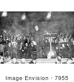 #7955 Picture Of Theodore Roosevelt During A Speech