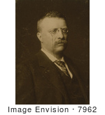 #7962 Picture Of Theodore Roosevelt In 1900