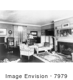 #7979 Picture Of Theodore Roosevelt Home Parlor