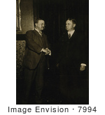 #7994 Picture Of Theodore Roosevelt And Hiram Johnson