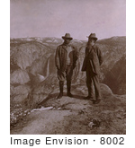 #8002 Picture of Theodore Roosevelt and John Muir by JVPD