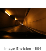 #804 Photography of Driving on a Road Through an Underground Tunnel by Kenny Adams