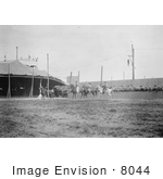 #8044 Picture Of Wild West Polo Game Coney Island