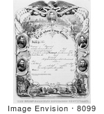 #8099 Picture of Soldier's Discharge Certificate by JVPD