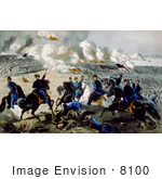 #8100 Picture Of Battle Of Pittsburgh Tennessee