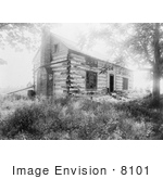 #8101 Picture of Grants Hardscrabble Cabin by JVPD