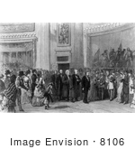 #8106 Picture Of President Grant Inauguration