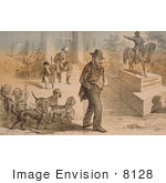#8128 Picture of Ulysses S Grant Cartoon by JVPD
